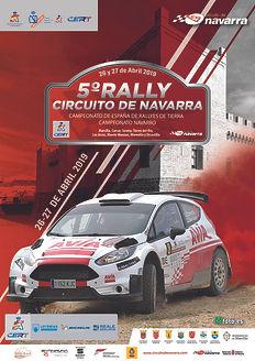 5 RALLY CIRCUITO NAVARRA_CARTEL TRAZADO-