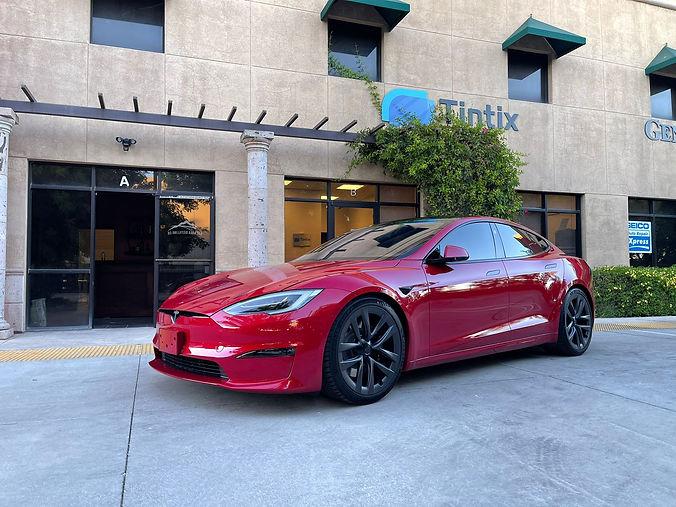 Tesla model s 2022 Window Tinting.jpeg