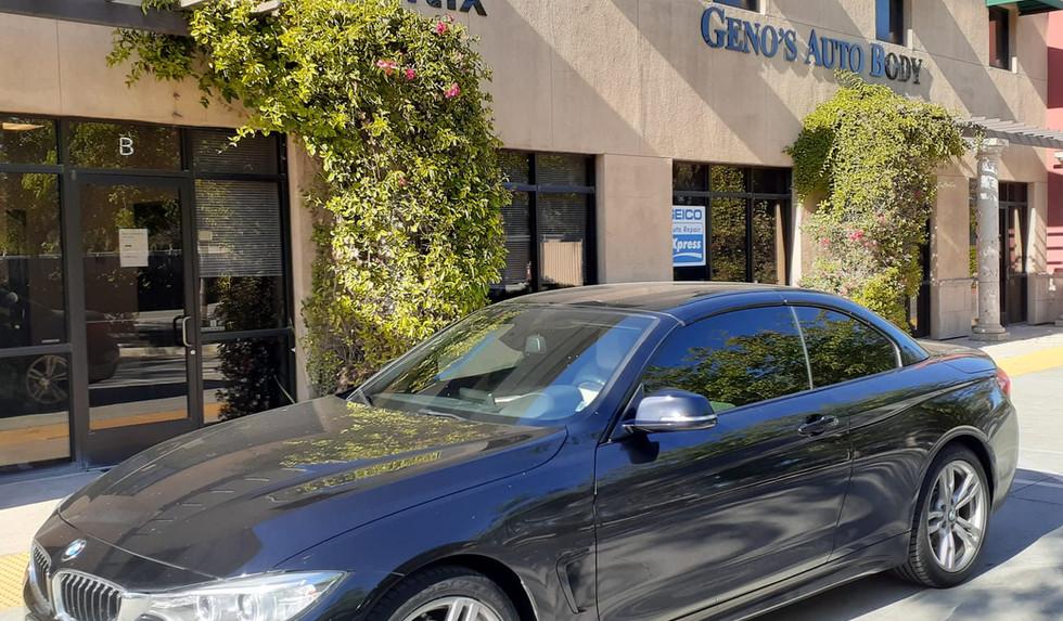 BMW car tinting