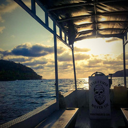 Chilolo Boat Sunset