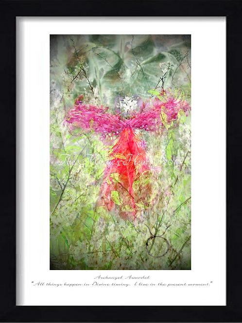 Archangel Asmodel 12x16 Framed Giclée Print