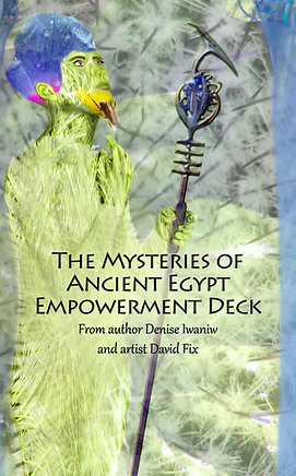 The Mysteries of Ancient Egypt Empowerment Deck