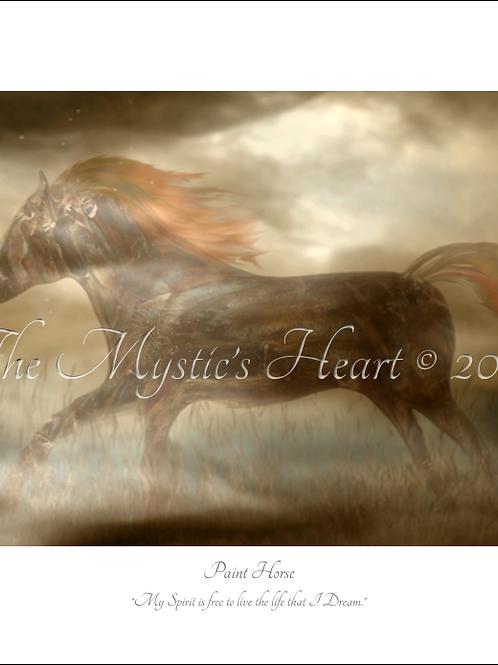 Paint Horse 16x12 Unframed Giclée Print