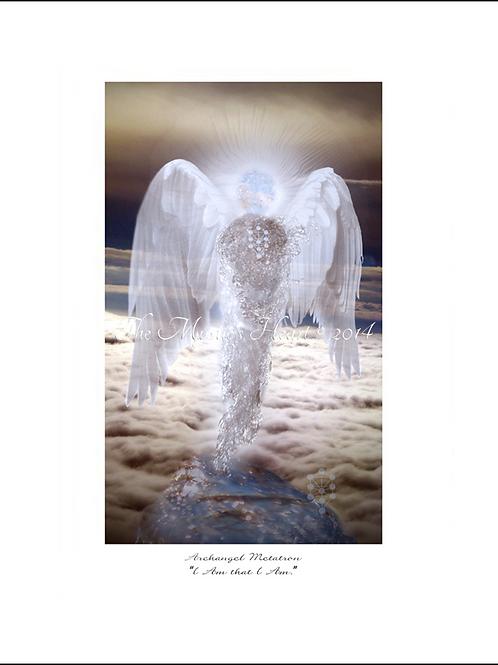 Archangel Metatron 12x16 Unframed Giclée Print