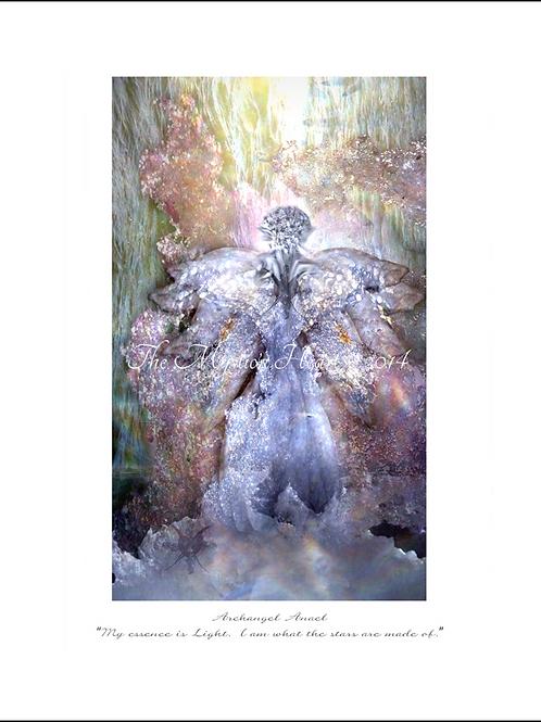 Archangel Anael 12x16 Unframed Giclée Print