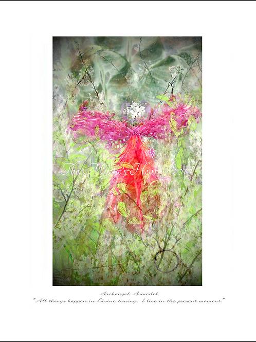 Archangel Asmodel 12x16 Unframed Giclée Print