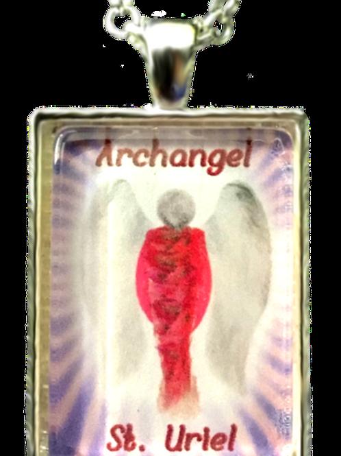 Archangel St. Uriel Pendant