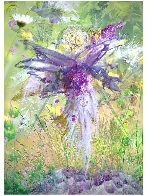 Archangel St Raphael Greeting Card