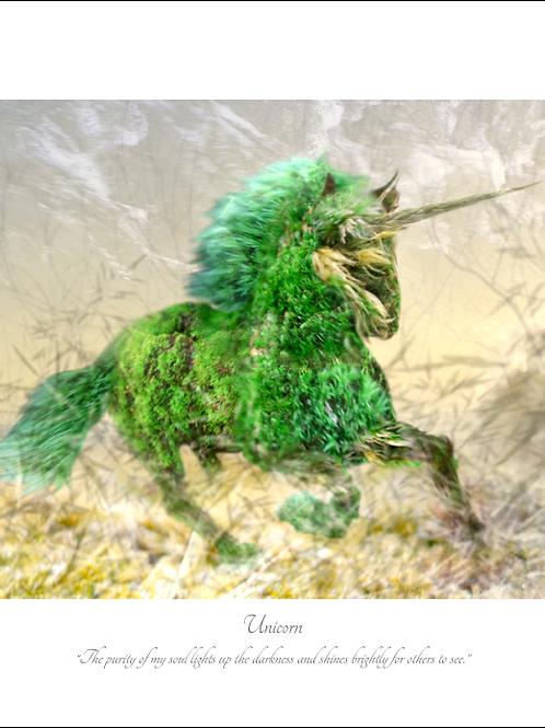 Unicorn 16x12 Unframed Giclée Print