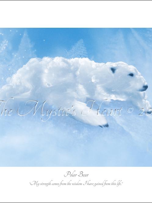 Polar Bear 16x12 Unframed Giclée Print