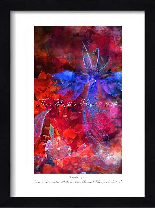 Wakinyan 12x16 Framed Giclée Print