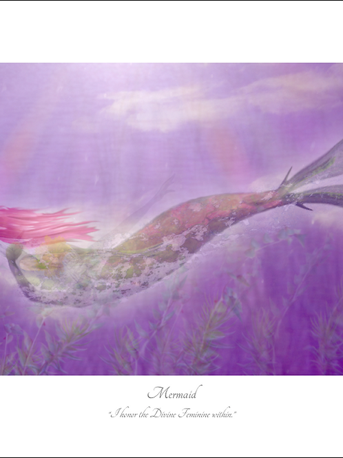 Mermaid 16x12 Unframed Giclée Print