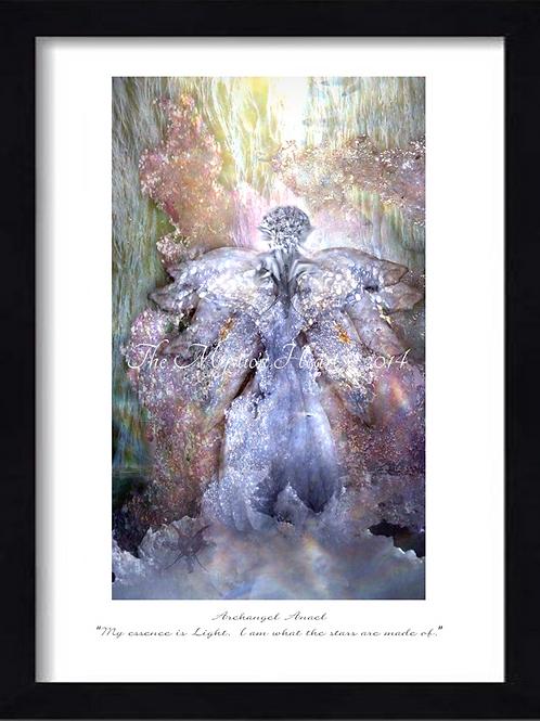 Archangel Anael 12x16 Framed Giclée Print