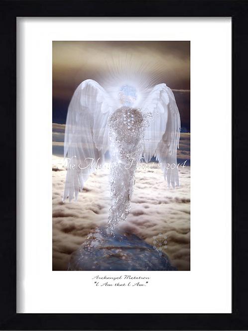 Archangel Metatron 12x16 Framed Giclée Print