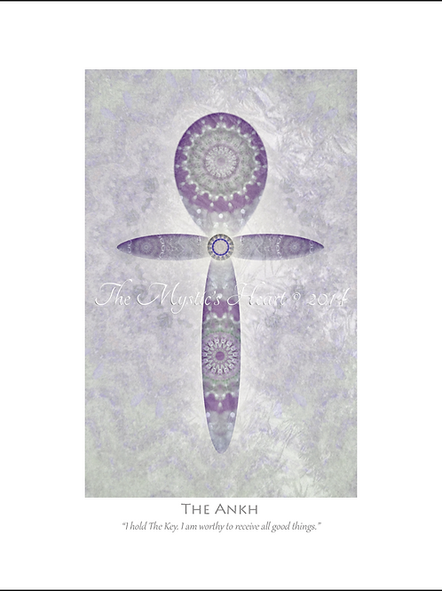 The Ankh 12x16 Unframed Giclée Print