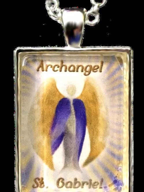Archangel St. Gabriel Pendant