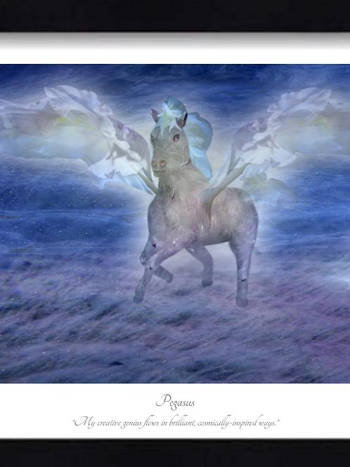 Pegasus 16x12 Framed Giclée Print