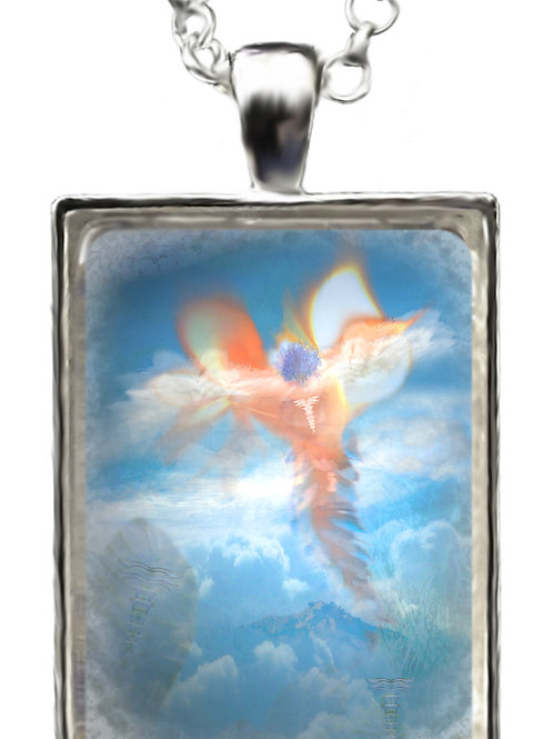 Angel Thoth Pendant