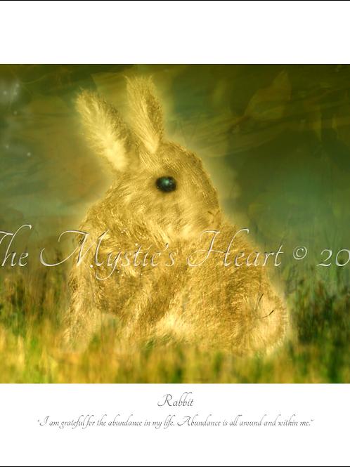 Rabbit 16x12 Unframed Giclée Print