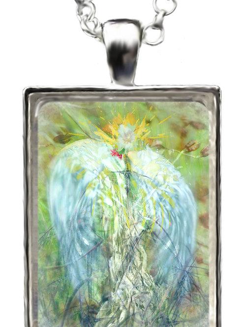 Archangel St Uriel Pendant