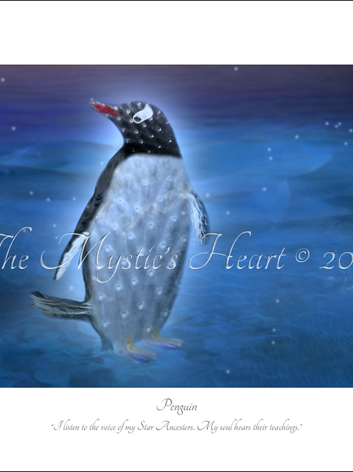 Penguin 16x12 Unframed Giclée Print