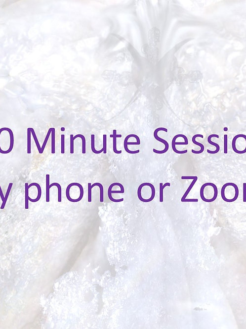 30 Minute Reading (by phone or Zoom)