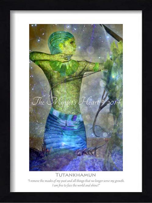 Tutankhamun 12x16 Framed Giclée Print