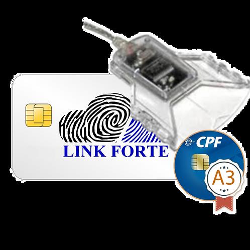 e-CPF - A3   LEITORA + SMART CARD