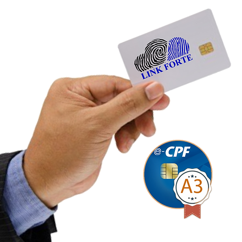 e-CPF - A3   SEM MÍDIA INCLUSA