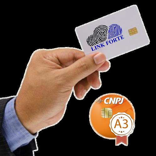 e-CNPJ - A3 | SEM MÍDIA INCLUSA