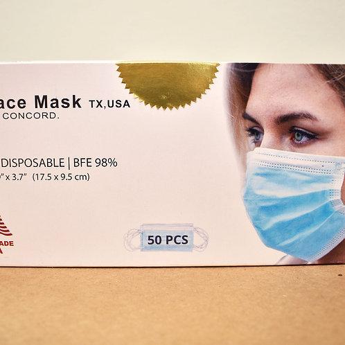 50 pcs Face Mask Box