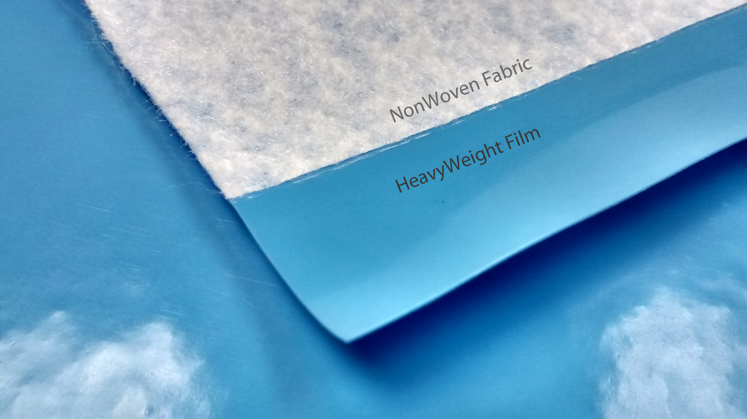 20mil Film laminated to Non-Woven