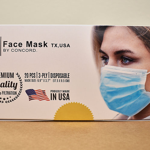 20 pcs Face Mask Package