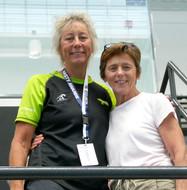 Sue Welker and Georgia McDaniel