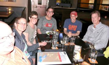 Yardhouse Group Dinner