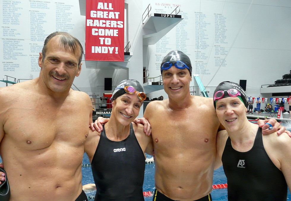 55+ A Mixed Free Relay