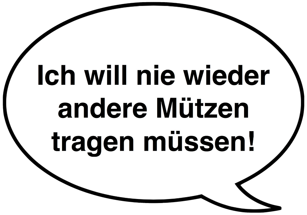 Feedback. Ich will nie wieder andere Mützen tragen müssen. Sixx-Zagg-Mützen von prettybanana.com. Deine individuelle Mütze aus München.