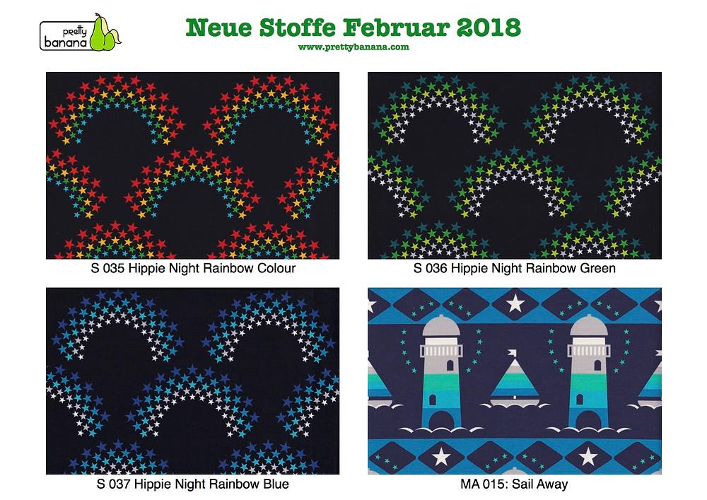 Neue Stoffe eingetroffen Februar 2018. Sixx-Zagg-Mützen von prettybanana.com. Deine individuelle Mütze aus München.