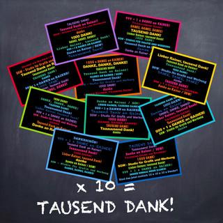 Tausend Dank an Rainer!