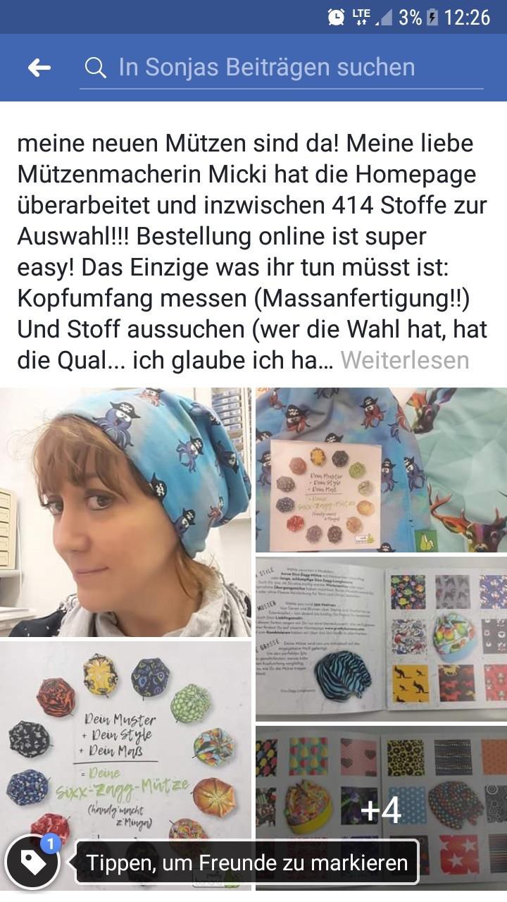 Feedback zur überarbeiteten Website: Bestellung online ist super easy! Sixx-Zagg-Mützen von prettybanana.com. Deine individuelle Mütze aus München.