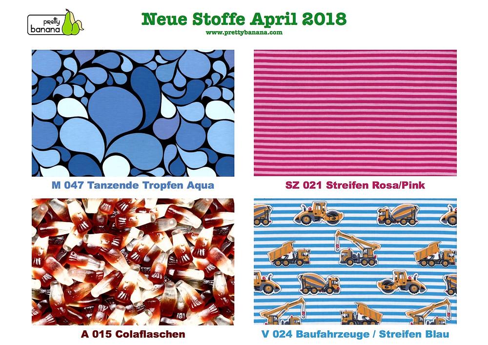Neue Stoffe eingetroffen April 2018. Sixx-Zagg-Mützen von prettybanana.com. Deine individuelle Mütze aus München.
