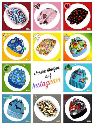 Unsere Mützen auf Instagram