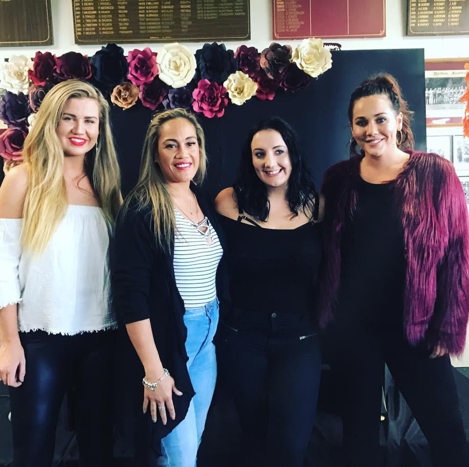 Sophie Cachia & Abby Gilmore with Janelle from Wooshka Photobooths