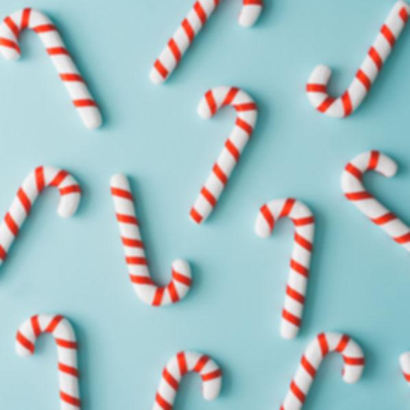 Creative minimal Christmas art. Pattern