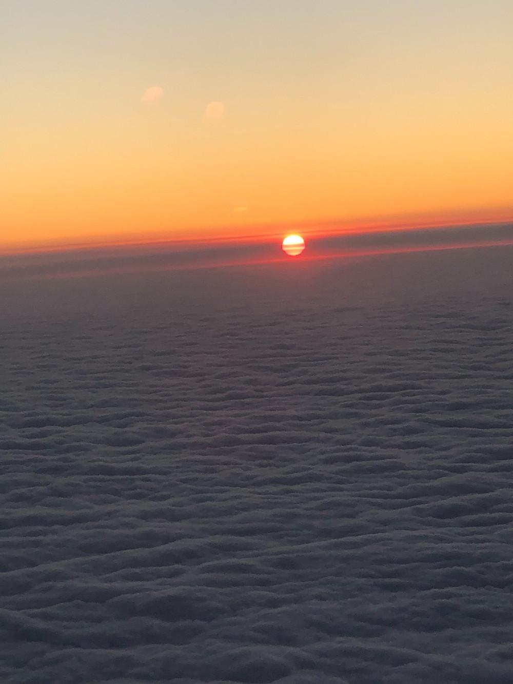 Melbourne's cloud sky