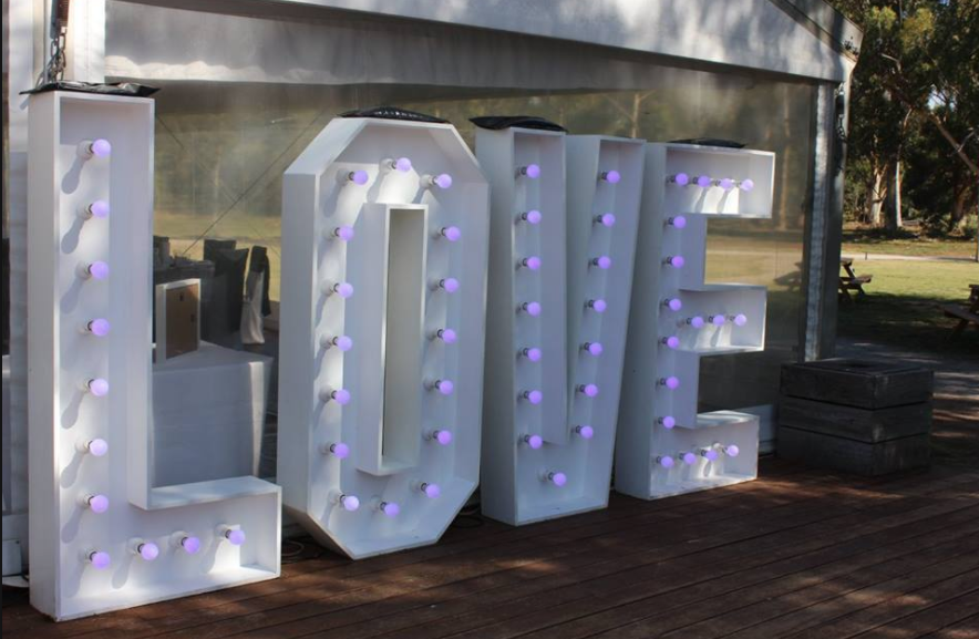 Love Letters by Dream Ceremony Decor
