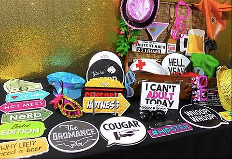 Photobooth Props Table