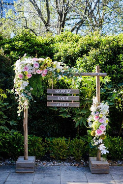 Happily Ever After Florals Included