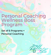 Personal Coaching + Full Set Program