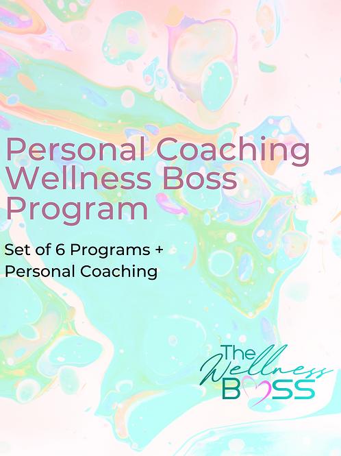 Personal Coaching + Full Set Program